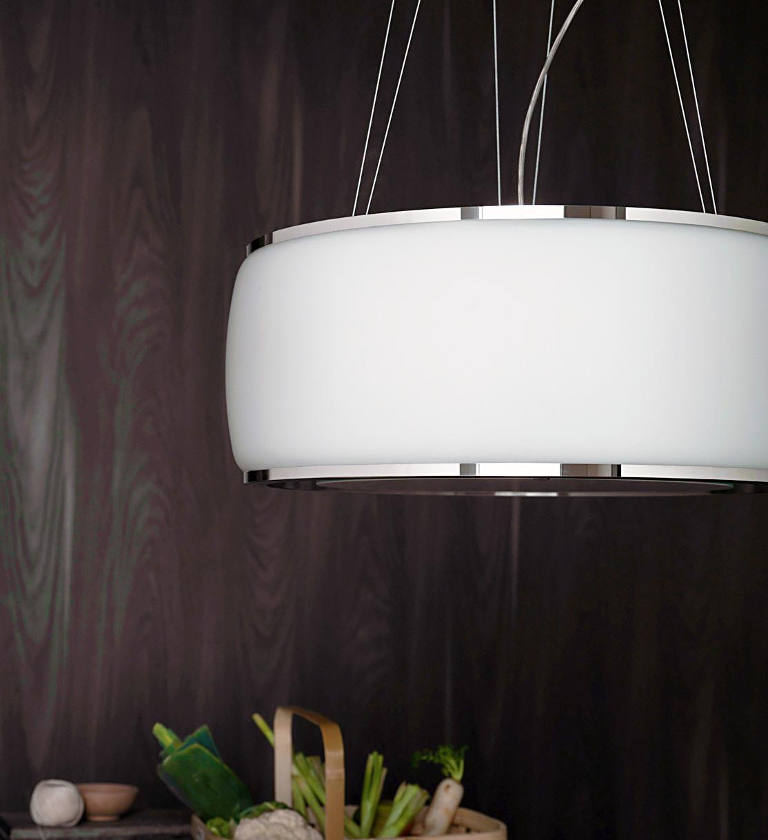 hotte falmec lustre design verre soffio. Black Bedroom Furniture Sets. Home Design Ideas