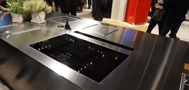 Reporting eurocucina 2016 - Plaque induction hotte integree ...