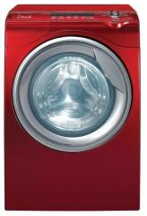 machine à laver rouge de marque  Daewoo