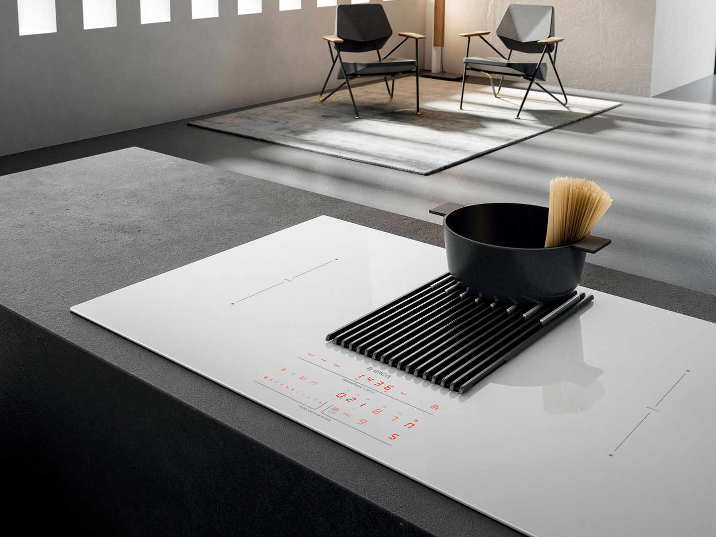 plaque induction aspirante nikolatesla libra. Black Bedroom Furniture Sets. Home Design Ideas