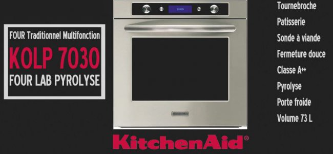 Vente flash Four pyrolyse Kitchenaid