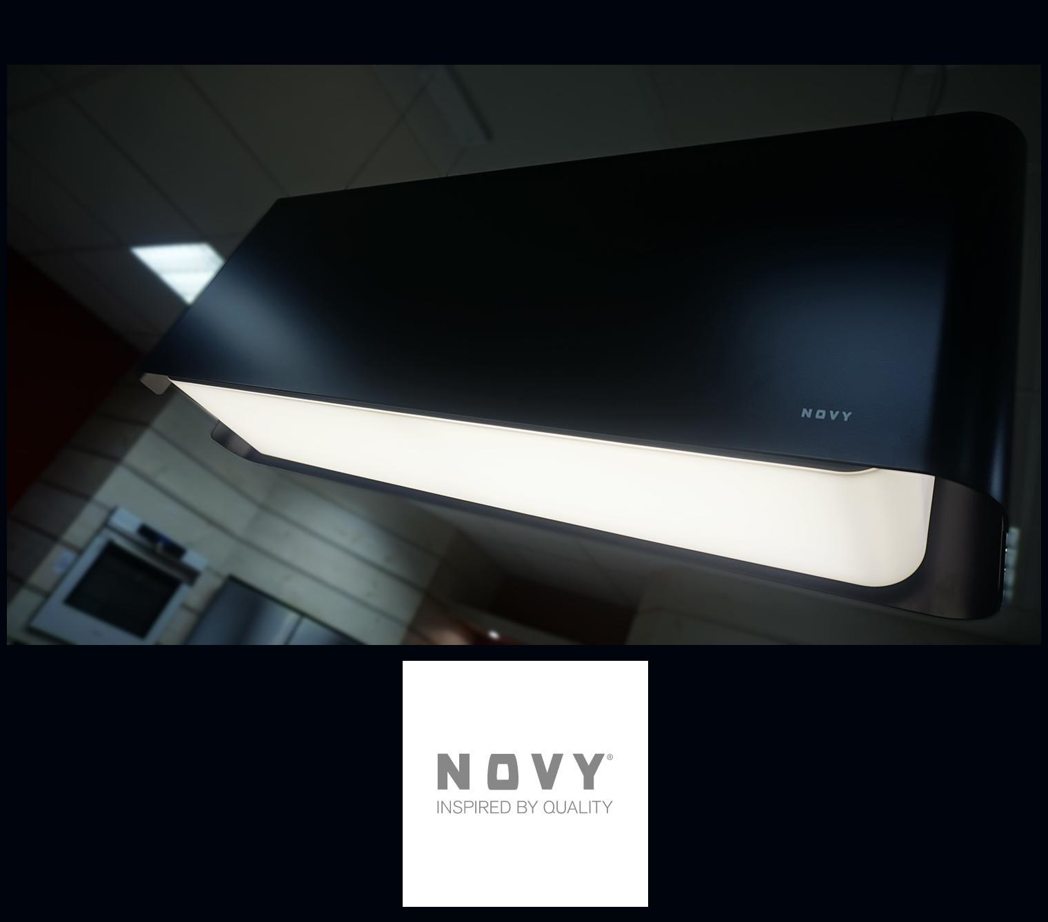 Ilot Central Table Pliante ~ Hotte Novy Mood Noire Blog Expert Lectrom Nager Conseils Et